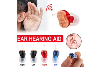 Digital Mini Invisibly In Ear Hearing Aid Enhancer Sound Voice Amplifier Tool(black,left ear)