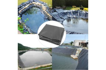 Large Fish Pond Liner 8*14m Impermeable Geomembrane Garden Pool HDPE Membrane Reinforced Landscaping(8m by 2m)