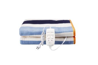 150x180cm 2 Person Electric Heated Cotton Blanket Heating Warming Mat Pad