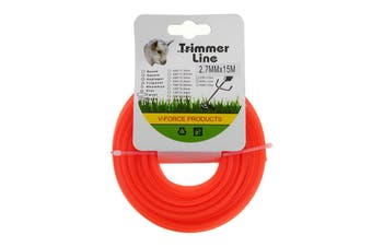 50M 120M 2.7mm Lawn Mower Grass Rope Brushcutter Cord Wire Roll Nylon Trimmer Line
