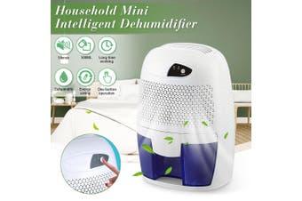 500ML Portable Mini Dehumidifier Electric Quiet Air Dryer for Home Bathroom (EU Plug)