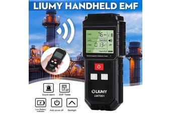 Electromagnetic Field Radiation Detector / EMF Meter LIUMY Handheld Mini Digital LCD EMF Detector Dosimeter Tester Counter Magnetic Field Radiation Detection Radiation Alarm (Batteries Included)(EMF)
