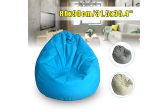 Bean Bag Chair Indoor/Outdoor Gamer Beanbag Seat - Adult and Kids Sizes(blue)