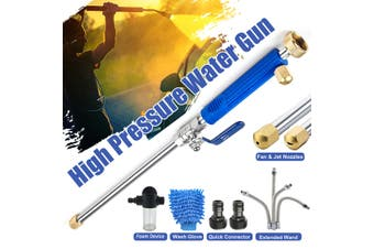 High Pressure Power Washer Sprayer Nozzle Wand Attachment Garden Cleaning(Style A (8pcs))