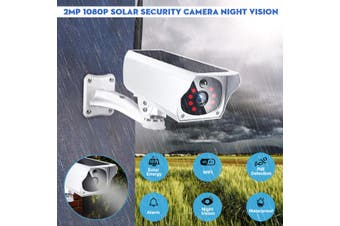 1080P Wireless Solar Power Camera WIFI Outdoor Surveillance Camera Night Vision(With Battery)