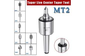 MT2 Live Center Morse Taper Shaft Triple Bearing Spindle Lathe Milling CNC