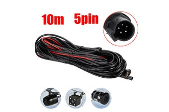 10M 5Pins Camera Recorder System Video Extension Cable Security Surveillance Cable(10 m)