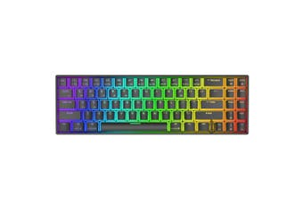 Royal Kludge RK71 71 Keys Dual Mode bluetooth 3.0 + USB Wired RGB Backlit Mechanical Gaming Keyboard(black,Red Switch)