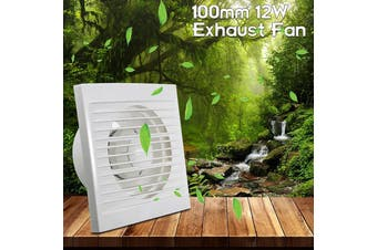 "4""/100mm Mini Wall Window Exhaust Fan Bathroom Kitchen Toilets Ventilation Fans Windows Exhaust Fan Installation(4 "")"