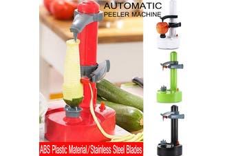 Electric Automatic Peeler Slicer Potato Fruit Apple Orange Vegetable Machine(red)