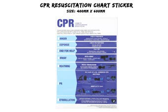 Pool CPR Resuscitation Sign Spa Regulation Safety Chart(style 3)