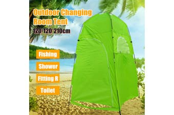 Portable PopUp Camping Beach Toilet Shower Tent Dressing Changing Room Outdoor 3 Colors(green,Shower Tent)