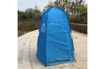 Portable PopUp Camping Beach Toilet Shower Tent Dressing Changing Room Outdoor 3 Colors(blue,Shower Tent)