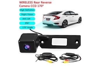 Wireless Reverse CCD Reversing Rear View Camera For VW Golf T5 Transporter