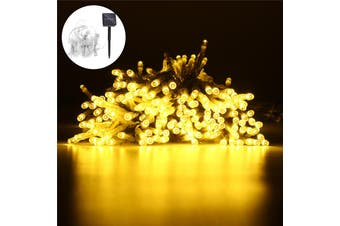 Curtain String Lights, 300x300cm 300LED Waterproof LED Fairy Lights,Outdoor Starry Lights Solar Powered String Lights,Decorative Lighting for Home,Garden,Party,Festival (warmwhite,String Light)