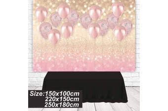Pink Balloon Photography Background Studio Props Backdrop For Party Birthday(220cm by 150cm Pink balloon)