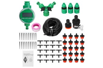 DIY Timing Automatic Sprinkler System Irrigation System Plant Flower Watering Sprinkler For Garden/Lawn/Farm/Backyard