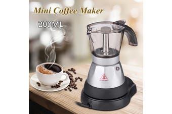 4 Cup Electric Espresso Coffee Maker Machine Percolator Moka Pot Stovetop Brewer