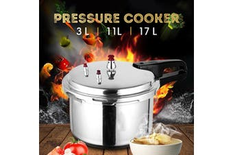 18cm Pressure Cooker Commercial Grade 304 Stainless Steel Pressure Cooker(3L (18cm))