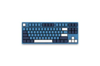 AKKO 3087SP Ocean Star Gaming Keyboard 87Key Type-C Wired Cherry MX Switch PBT Keycaps Mechanical Gaming Keyboard for PC Laptop(Blue Switch)