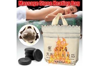 EU Plug SPA Massage Hot Stone Heating Bag Warmer Heater Device for Salon Home Beauty 220V(Only 220V Heating Bag)