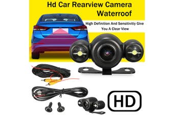 Universal Car HD 170 Degree Reversing Camera Rear View Backup Night Vision Waterproof Cam Kit(Waterproof)