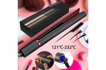 2 IN 1 Professional Dual-purpose Salon Hair Straightener Curler Set 250-450°F