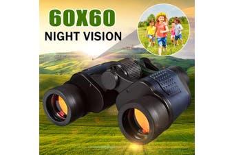 Travel Binoculars 60x60 Zoom HD Handheld Watrerproof Telescopes 3000M Night Vision Coordinates Military Army Outdoor Hunting Camping Travel Match