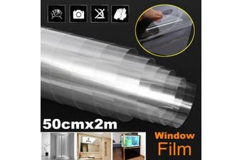 Solar Reflective One Way Mirror Privacy Window Film Insulation Stickers Window Decorative 3yue(clear)
