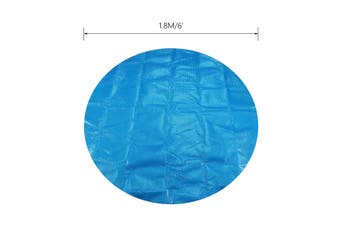 6ft/7ft Round/Square Swimming Pool Hot Tub Cover Blanket Spa Cover Keep Warm Spa Protector Outdoor Anti-UV Dust Cap(Round 180x180cm)