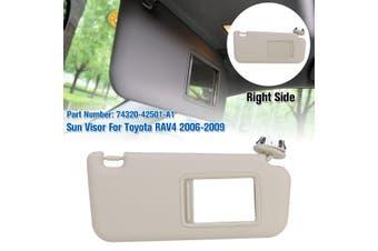 1Pcs Car Sun Visor Passenger Right Side / Left Driver Side 74320-42501-A1 For Toyota Rav4 06-09