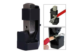 Batte*y Crimping Pliers Cable Hammer Crimper Wire Terminal Welding Lug Crimping Tool(Black Lug Crimping Tool)