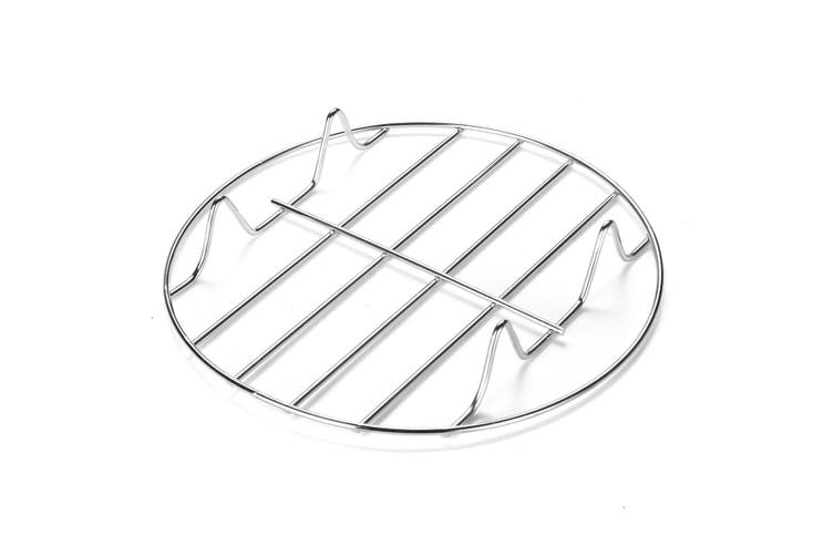 5Pc/Set Air Fryer Frying Cage Dish Baking Pan Rack Pizza Tray Pot Tool Accessory(6 inch- 5pcs)