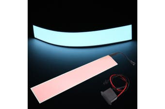 12''x2'' 12V EL Tape Electroluminescent Panel Back Light & Inverter 6 colors New ( Pink - Blue )(aqua,12)