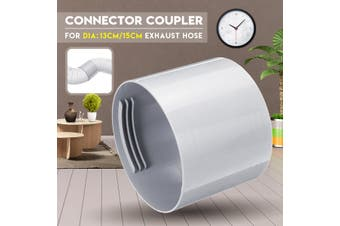 15cm 5/6'' Exhaust Hose Connector Coupler Air Conditioner Round Portable(15 cm)