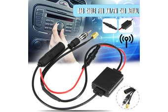 FM/AM DAB + Antenna Aerial Splitter Adapter Cable SMB converter Car Radio Active
