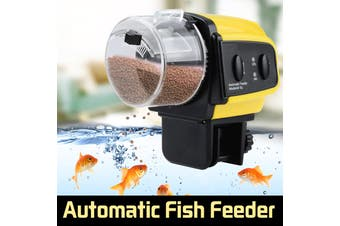 Adjustable Aquarium Automatic Auto Tank Pond Fish Mate Food Feeder Feeding Timer(Type A)