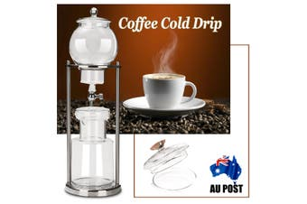 Dutch Coffee Cold Drip Water Drip Brew Coffee Maker Serve For 10cups 1000ml New