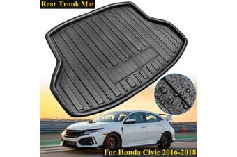 New Tray Boot Liner Cargo Rear Trunk Mat For Honda Civic 2016-2018