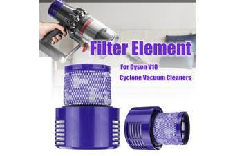 Filter Element HEPA Exhaust Washable Big Filter Unit Accessories For Dyson V10 Vacuum Cleaner