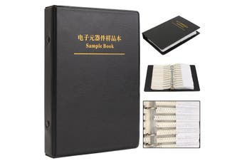 1Pc 0805 SMD Sample Book 5% 63Values 3025Pcs YAGEO Resistor Assortment Kit and 17Values 700Pcs muRata Capacitor Set on Sale
