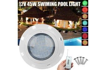 45W Remote Control RGB Colourful Underwater Swimming Pool Pond Aqua LED Light(45W 252 LED)