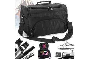 Hair Stylist Salon Barber S cissors Comb Tool Case Hairdressing Makeup Bag Holder (black,No.6)