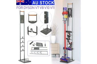 132cm Freestanding Cordless Vacuum Cleaner Stand Floor Rack For Dyson V7 V8 V10 V11