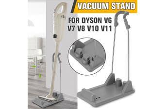 Freestanding Cordless Vacuum Cleaner Stand Rack Gray For Dyson V6 V7 V8 V10 V11
