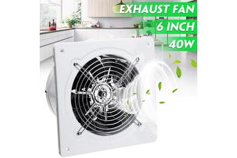 6'' Ventilation Fan Wall/Ceiling Mute Toilet Kitchen Window Exhaust Extracor