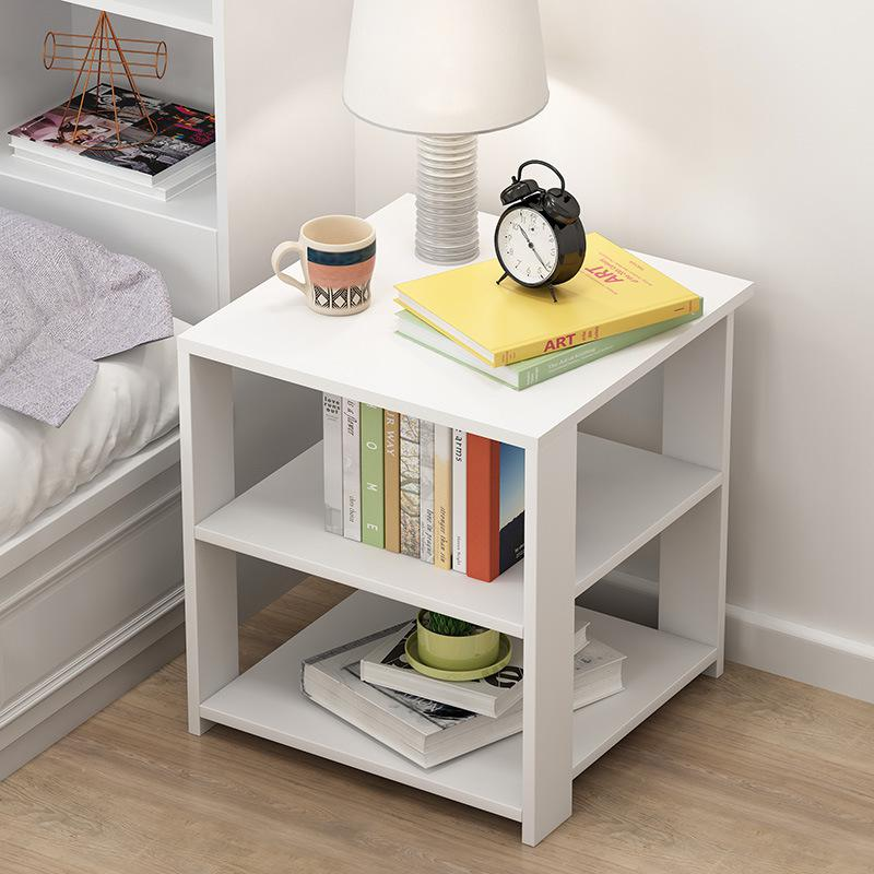 Wood Bedside Tables Nightstand Sofa Side Table Tea Coffee Tables Cube Shelving Matt Blatt