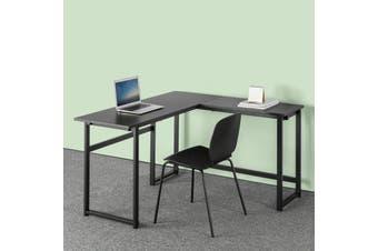 Zinus Luke L-shape Corner Office Desk Laptop Computer Study Student Table Wood Metal - Large