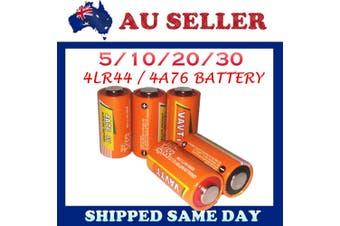 6V 4LR44 4A76 ALKALINE BATTERY Barkguard Citronella Spray Stop Bark Dog Collar