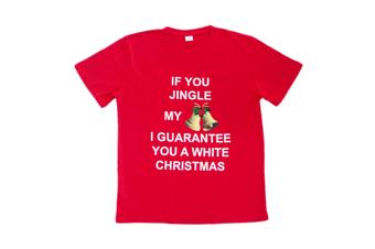 New Funny Unisex Xmas Christmas T shirt Tee Adult Kids Mens Womens Boys Santa - Merry Christmas - 0